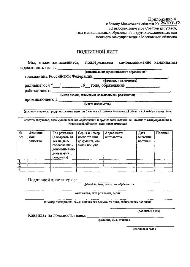 образец стоп-лист кандидатов